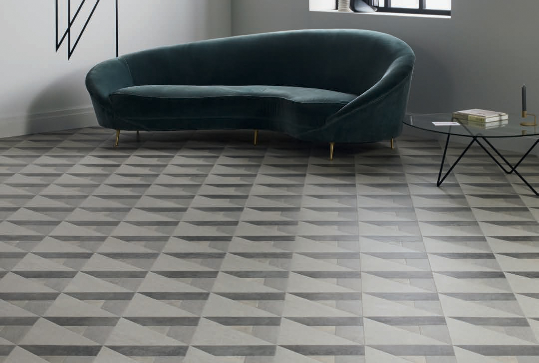 Laying patterns designers choice Cubist commercial and residential luxury vinyl tiles flooring design inspiration 2 web