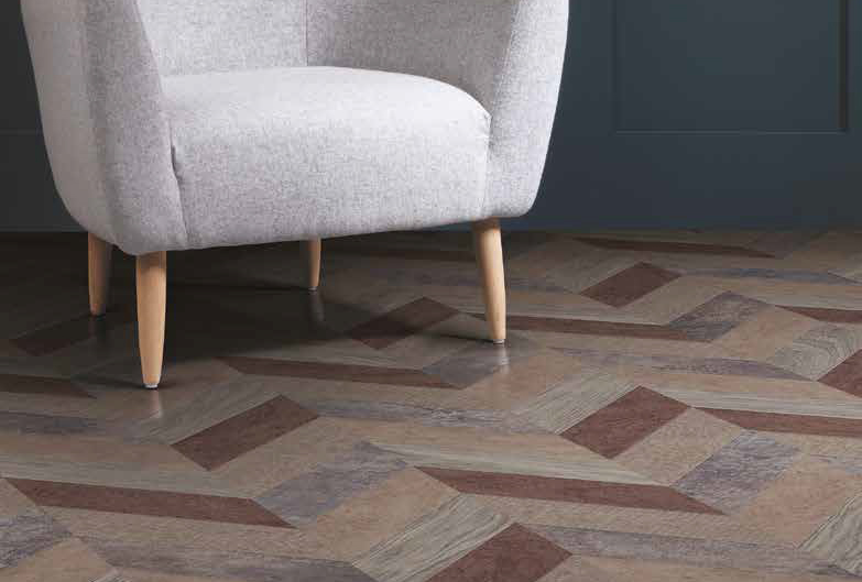 Laying patterns designers choice Pleat commercial and residential luxury vinyl tiles flooring design inspiration web