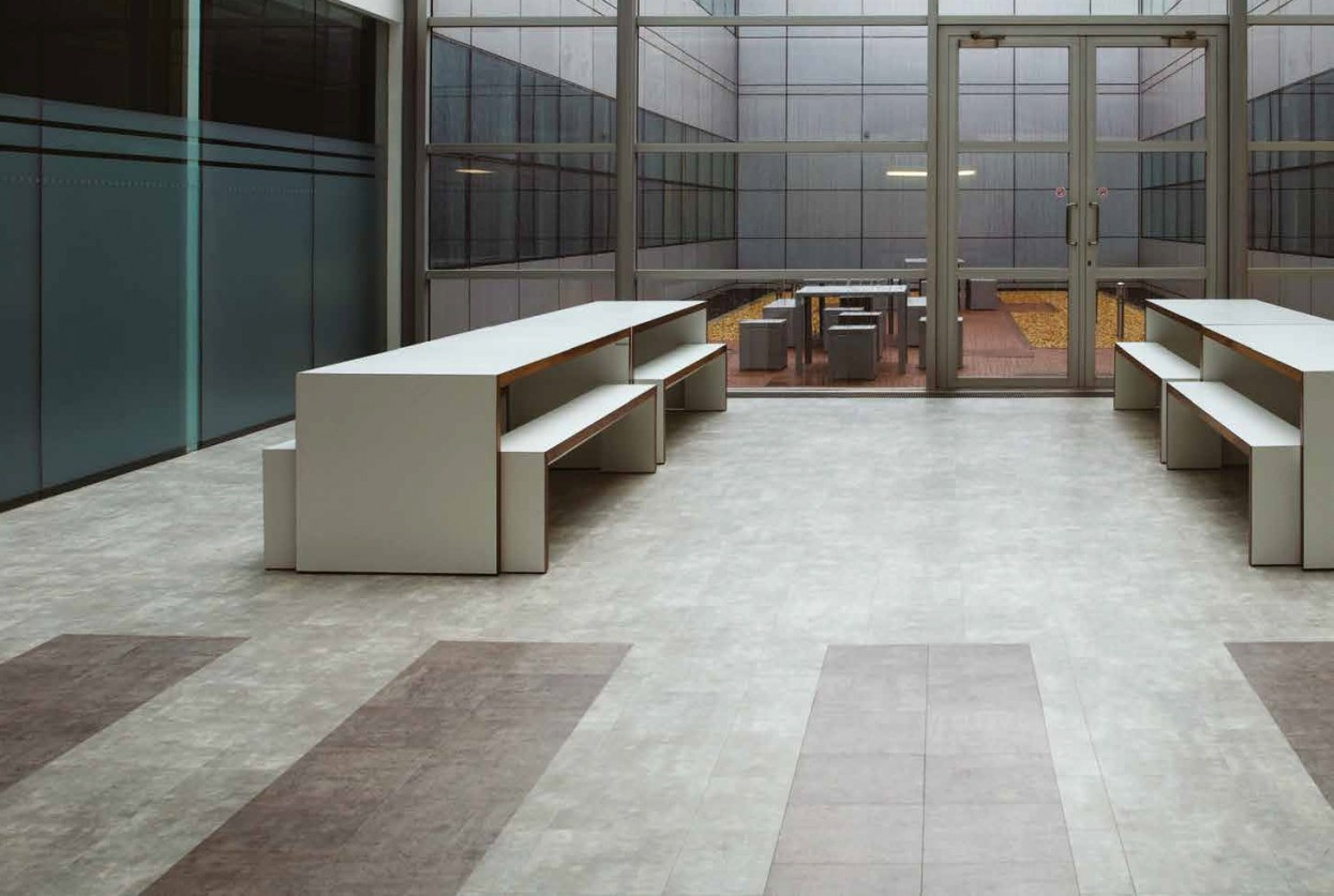 Amtico Signature Exposed Concrete residential and commercical lvt stone flooring design web