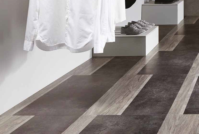 Laying patterns designers choice Varied Block commercial and residential luxury vinyl tiles flooring design inspiration web
