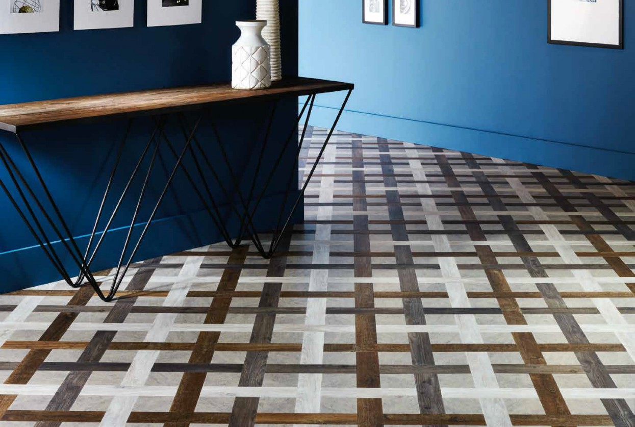 Laying patterns designers choice Basket Weave commercial and residential luxury vinyl tiles flooring design inspiration 2 web