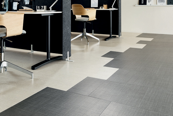 Amtico Access Cirrus Air and Satin Weave commercial luxury vinyl tiles stone flooring design web