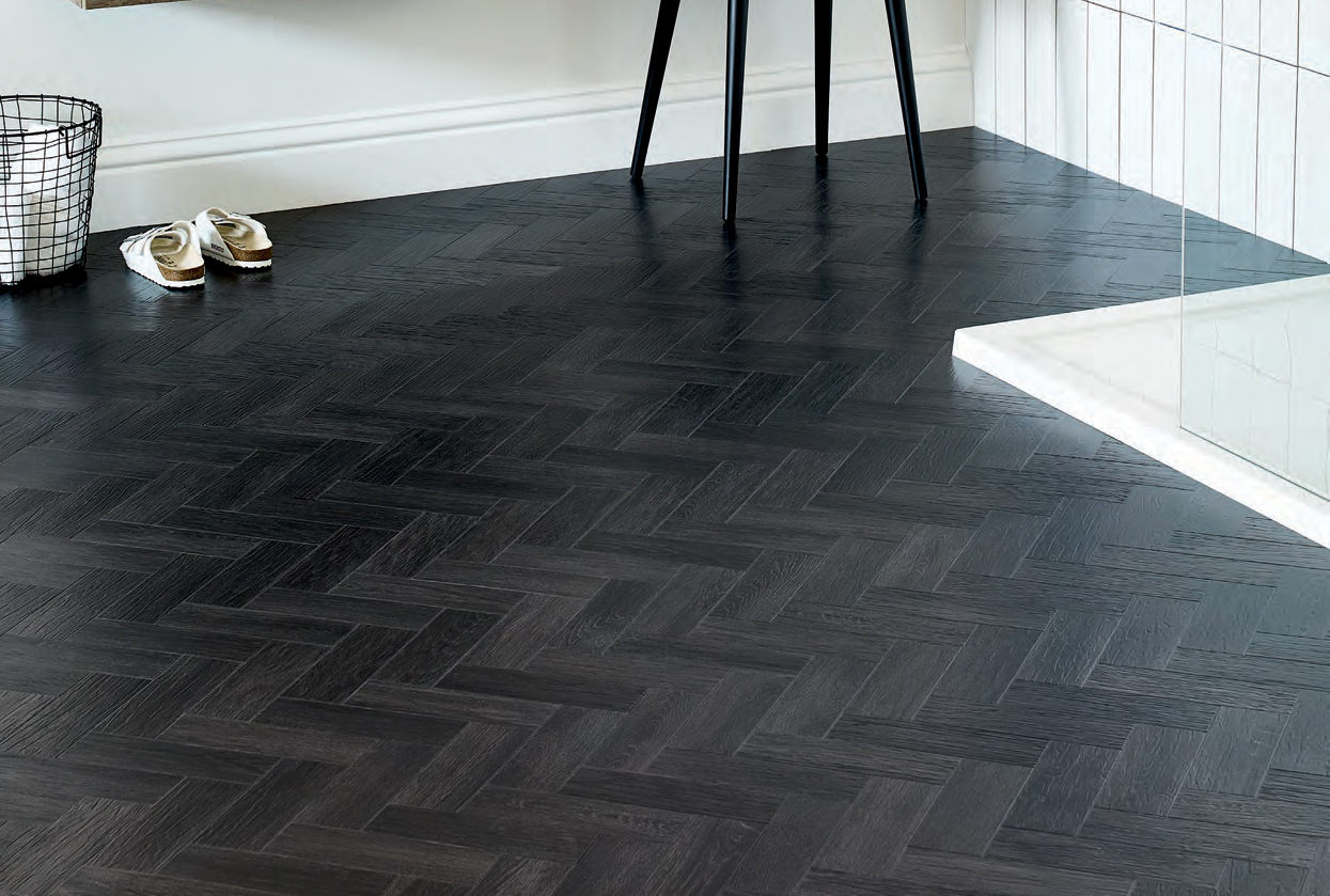 Amtico Form Coal Grained Oak  commercial luxury vinyl tiles wood flooring design web