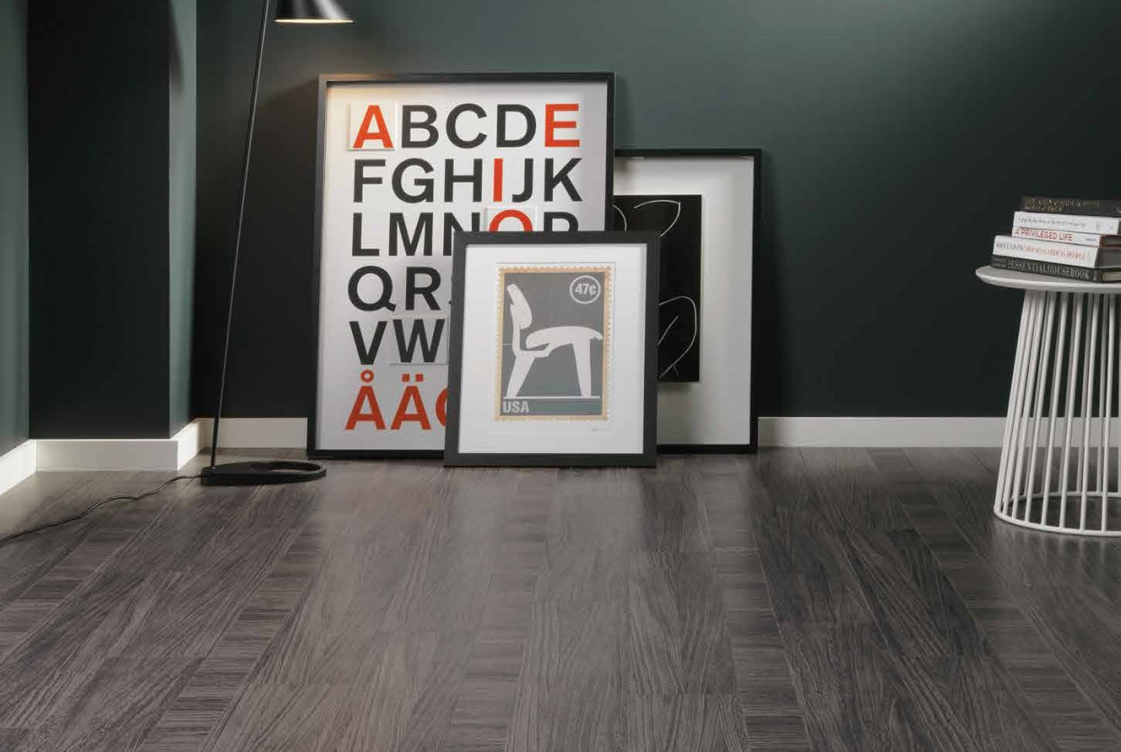 Amtico Signature Quill Gesso Cross Band residential and commercical lvt stone flooring design web