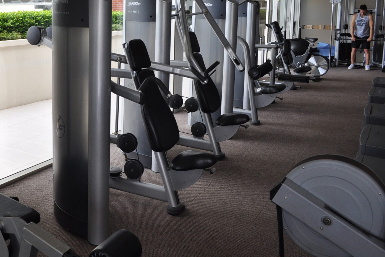 Pullman Hotel Gym Berberpoint Carpet Tile